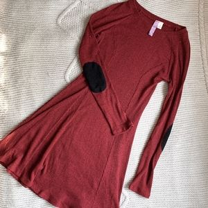 Francesca's Red Sweater Dress | Size S